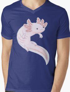 Axolotl Mens V-Neck T-Shirt