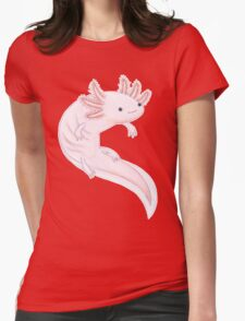 Axolotl Womens Fitted T-Shirt
