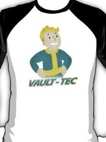 Vault Boy Vintage Poster T-Shirt