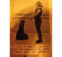 Poise: Ballerina  Photographic Print