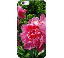 Peony flowers iPhone Case/Skin