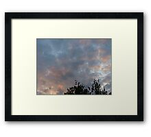 One Glorious Night Framed Print