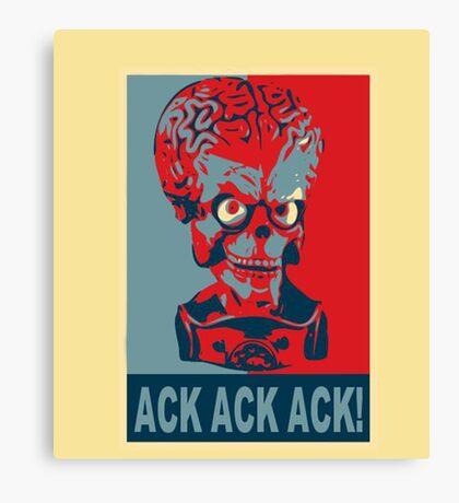Ack Ack Ack! Canvas Print