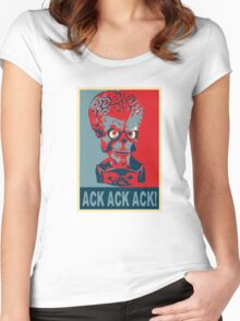 Ack Ack Ack! Women's Fitted Scoop T-Shirt