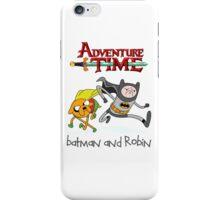 Adventure Time Batman and Robin iPhone Case/Skin
