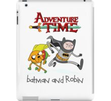 Adventure Time Batman and Robin iPad Case/Skin