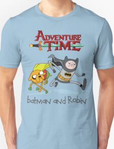 Adventure Time Batman and Robin T-Shirt