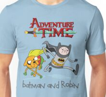 Adventure Time Batman and Robin Unisex T-Shirt