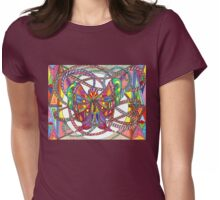Free At Last Womens Fitted T-Shirt