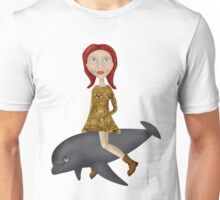 To Ride A Dolphin Tee-Shirt Unisex T-Shirt
