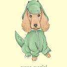 Croco-Spaniel by Katie Corrigan