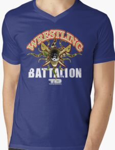 wrestling battalion Mens V-Neck T-Shirt