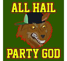 All Hail Party God - Adventure TIme Photographic Print
