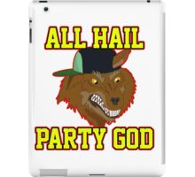All Hail Party God - Adventure TIme iPad Case/Skin