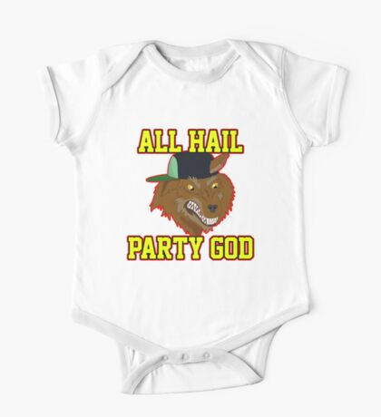 All Hail Party God - Adventure TIme One Piece - Short Sleeve