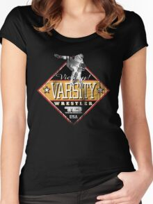 victory varsity Women's Fitted Scoop T-Shirt