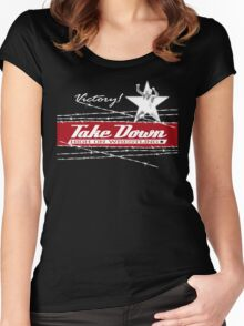 victory takedown Women's Fitted Scoop T-Shirt
