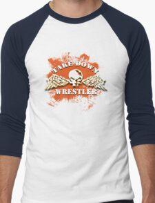 skull wings Men's Baseball ¾ T-Shirt