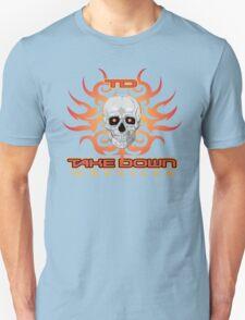 skull flame tatoo Unisex T-Shirt