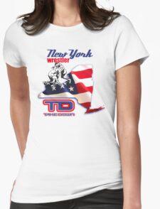new york wrestler Womens Fitted T-Shirt