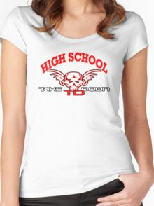high school wrestler Women's Fitted Scoop T-Shirt