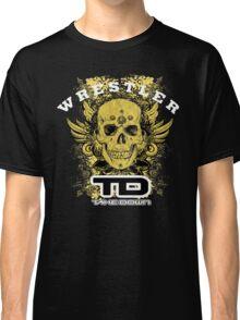 gold wings wrestler Classic T-Shirt