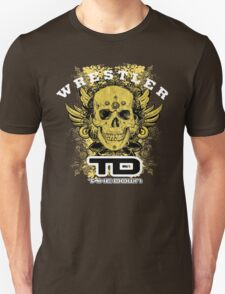 gold wings wrestler T-Shirt