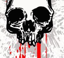 flying skull Sticker