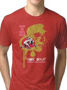 dripping skull Tri-blend T-Shirt