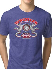 dragon wrestlers Tri-blend T-Shirt