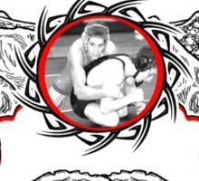 dragon wrestlers Sticker