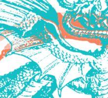 seven dragons Sticker