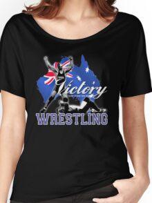 aussie wrestler Women's Relaxed Fit T-Shirt