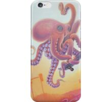 The Octopus Skater iPhone Case/Skin