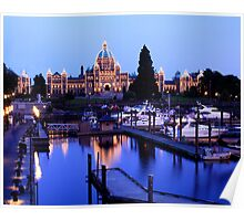 Inner Harbour, Victoria, BC Poster