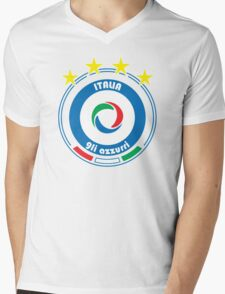 World Cup Football 2/8 - Team Italia Mens V-Neck T-Shirt