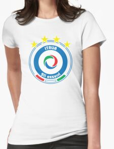 World Cup Football 2/8 - Team Italia Womens Fitted T-Shirt