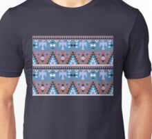 Native American Eagle - Blue Unisex T-Shirt