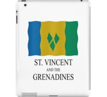 St Vincent and the Grenadines flag iPad Case/Skin