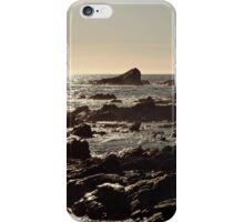 Golden sea sunset iPhone Case/Skin