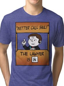 Better Call Saul Lawyer Tri-blend T-Shirt