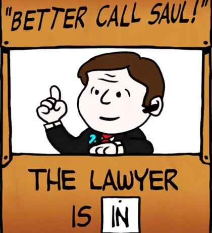 Better Call Saul Lawyer Sticker