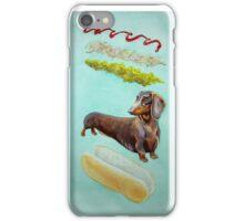 Hot Doggin' - Dachshund in a Bun iPhone Case/Skin