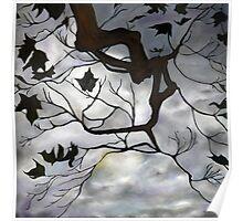 Brooding Sky Poster