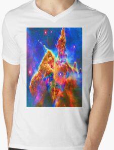 Cosmic Mind Mens V-Neck T-Shirt