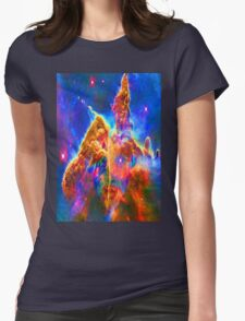 Cosmic Mind Womens Fitted T-Shirt