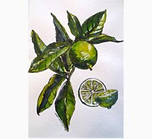 Limes. Pen and wash. 42x32cm. Unisex T-Shirt