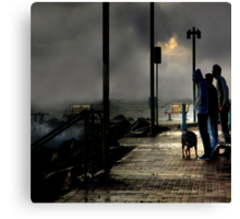 Storm Watchers Canvas Print