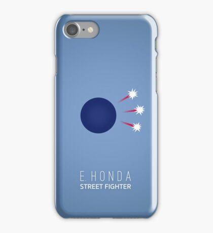 Street Fighter - E. Honda iPhone Case/Skin