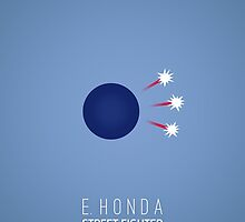 Street Fighter - E. Honda by flemingian